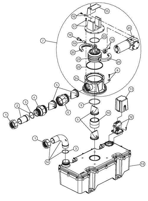 de reis met de auto  j series vacuum generator kit