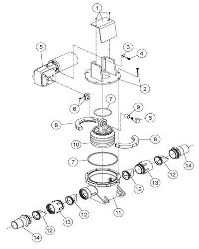 Dometic Sealand S Series Vacuum Pump Parts