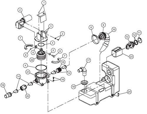 Dometic Sealand Vacuum Generator Vg2 Parts